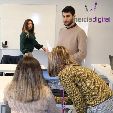 Reunión de equipo el día 15/01/2020 en las oficinas del PCTH, Aljaraque (Huelva).